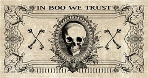 Spooky Halloween Money Design