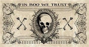 Spooky Halloween Money Design