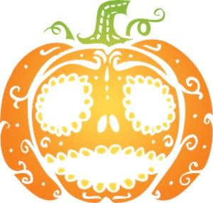 Sweet Halloween Pumpkin