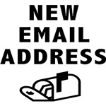 New Email Address T-shirt