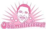 Pink Obamalicious T-shirts