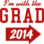 I'm With The Grad 2013 T-shirts