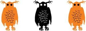 Spooky Halloween Owls