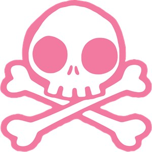Cute Pink Skull