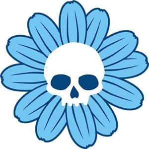 Blue Gothflower