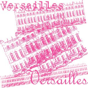 Pink Versailles Collage