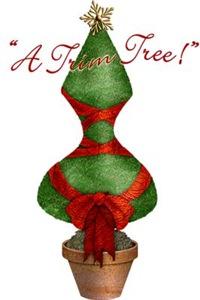 Corset Christmas Tree