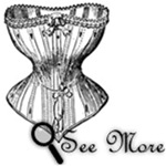 Vintage Fashion Images - Corsets, Parasols, Shoes