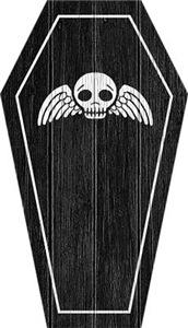 Cute Gothic Coffin
