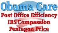 Anti-Obama Care Efficiency