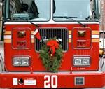 Holiday Fire Truck