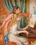 Renoir: Girls at a Piano