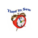 Time to Sew - Clock