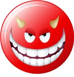 Devil Smiley Face Two