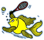 Tennis Fish, Fish Playing Tennis