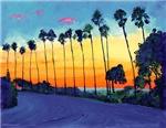 La Jolla Sunset by RD Riccoboni