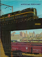 Pennsylvania Railroad Annual Report 1960
