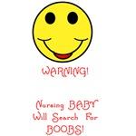 WARNING Nursing Baby