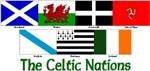 Seven Celtic Nations Flags