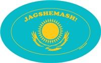 Kazakhstan Flag! Niiice!