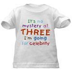 THIRD BIRTHDAY  colorful shirts for 3. CLICK HERE