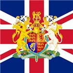 UK Flag and Coat of Arms