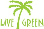 Live Green - Palm Tree