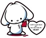Pyshco Valentine's Bunny