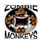 100% of the profit from zombie monkey merchandise goes to the International Zombie Monkey Obliteration Fund Organization, or IZMOFO, to help with the struggle against this perilous menace.