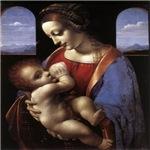 Leonardo Da Vinci Madonna Litta
