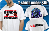 Bodybuilding & Powerlifting t-shirts under $15