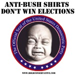 Dems: Anti-Bush shirts don't win