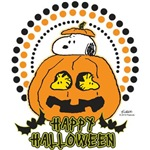Snoopy and Woodstock Pumpkin