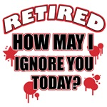 Funny retired t shirt designs