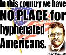 No Place for Hyphenated Americans