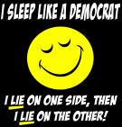 Sleep like a Democrat