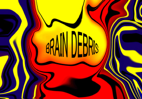 ART/ABSTRACT-TITLE-BRAIN DEBRIS II