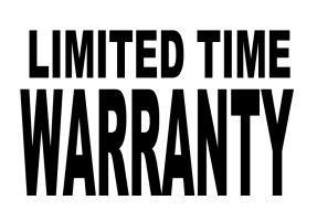 HUMOR/LIMITED TIME WARRANTY