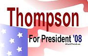 Thompson for President