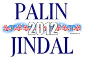 Palin Jindal 2012 Shirts, Stickers