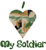 I Love (Heart) my Soldier