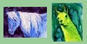 Horse, Mule, Zebra & Llama Art