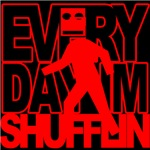 Every Shufflin Red Blockhead