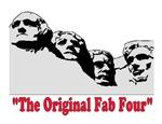ORIGINAL FAB FOUR! ~Mt. Rushmoore