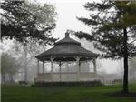 Park Gazebo in the Fog (Watercolor)