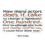 Norm Crosby Actor Joke T-shirts & Gifts