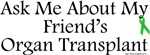 Ask Me Friend Transplant
