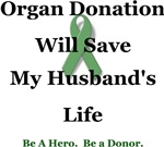 Husband Organ Donation