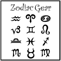 Zodiac Sign Gift Gear On T-Shirts, Mugs, Stickers