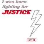 Born Fighting for Justice Lightning Bolt